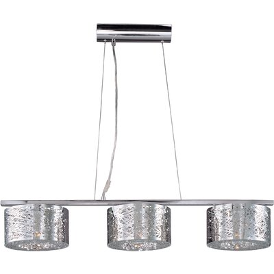 Mica 3-Light Kitchen Island Pendant