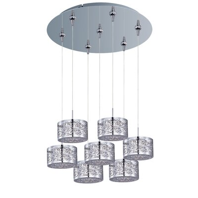 Mica 7-Light Pendant and Canopy