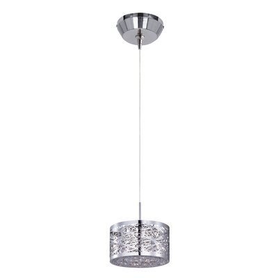 Mica 1-Light Pendant and Canopy