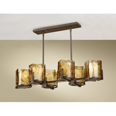 Rollo 6-Light Kitchen Island Pendant
