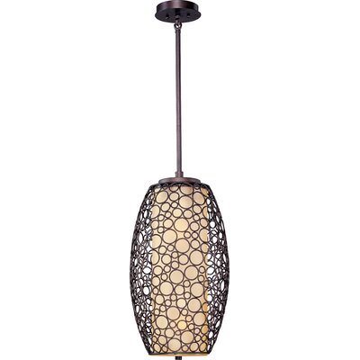 Cepeda 2-Light Pendant with Dusty White Glass