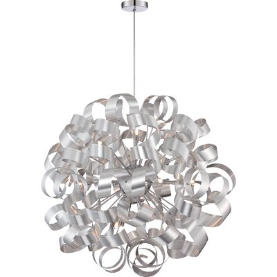 Sherrill 12-Light Geometric Pendant Finish: Millennia