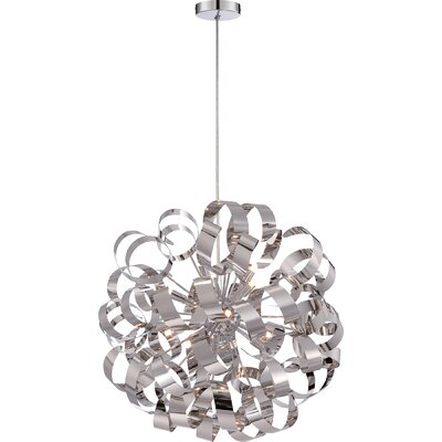 Jaelyn 12-Light Globe Pendant Size: 23 H x 23 W x 23 D