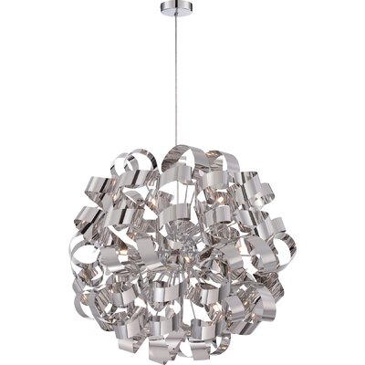 Jaelyn 12-Light Globe Pendant Size: 31 H x 31 W x 31 D