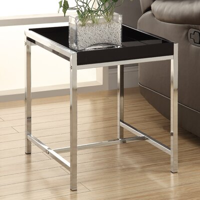 Doug End Table Finish: Black