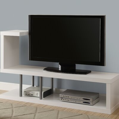 Homer 60 TV Stand Color: White