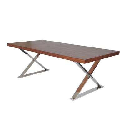Foweler Dining Table Finish: Walnut