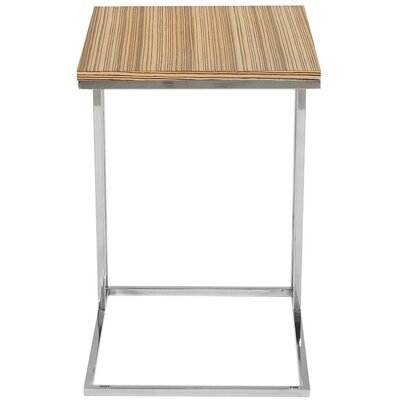 Cashin End Table Color: Zebrano