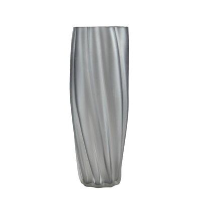 Twisted Vase (Set of 2) Color: Gray WADL4334 27716627
