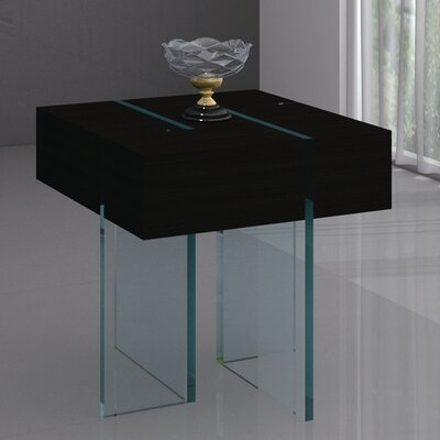Berndt End Table Color: Wenge