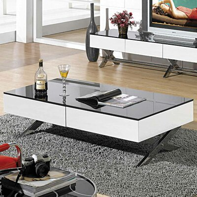 Garry Coffee Table Base Finish: White