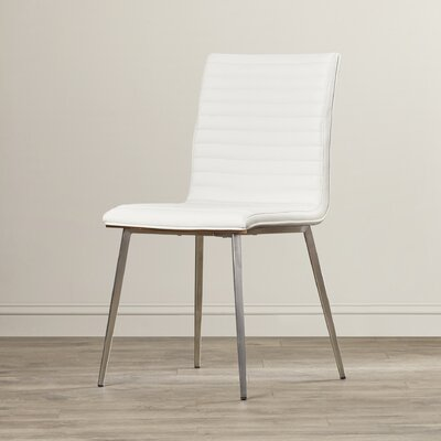 Jacque Side Chair Upholstery: White