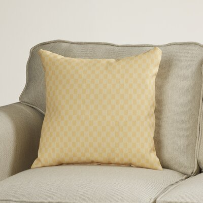 Dalton Geometric Throw Pillow Size: 18 H x 18 W, Color: Lemon