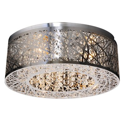 Dicicco 3-Light Flush Mount