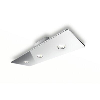 Corben 3-Light Semi Flush Mount Finish: Chrome