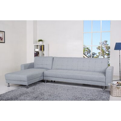 Wade Logan WADL4447 Frankfort Sectional