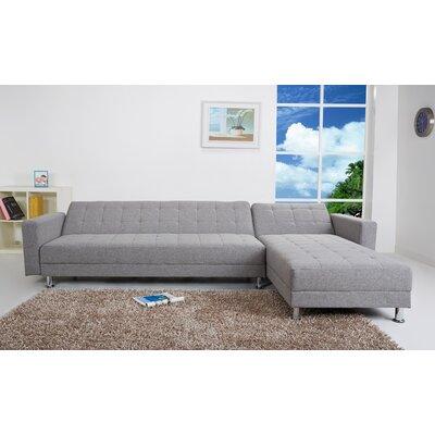 Spirit Lake Sleeper Sectional Upholstery: Ash