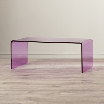 Wynne Coffee Table Finish: Purple