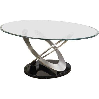 Angello Coffee Table Color: Chrome