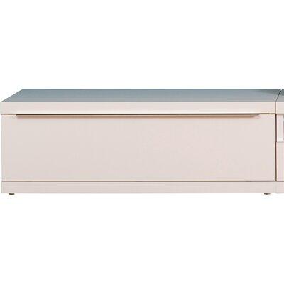 Orion Wood Frame Single Bottom Module Color: Pure White