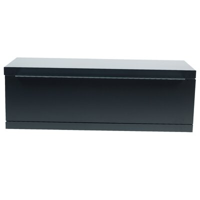 Orion Wood Frame Single Bottom Module Color: Pure Black