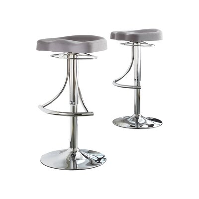 Macie Adjustable Height Swivel Bar Stool