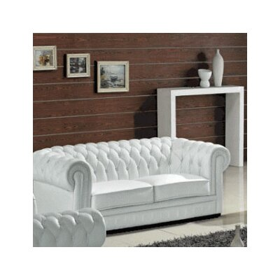 WADL4540 27992877 WADL4540 Wade Logan Madeline Leather Sofa