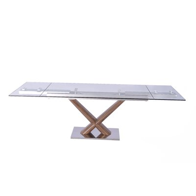 Beechwood Extendable Rectangular Dining Table