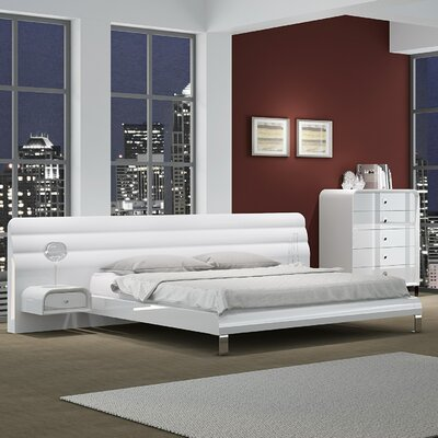Bartling Upholstered Platform Bed Size: Queen