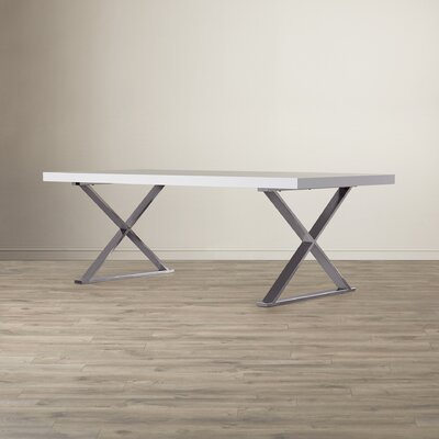 Eric Dining Table Finish: White