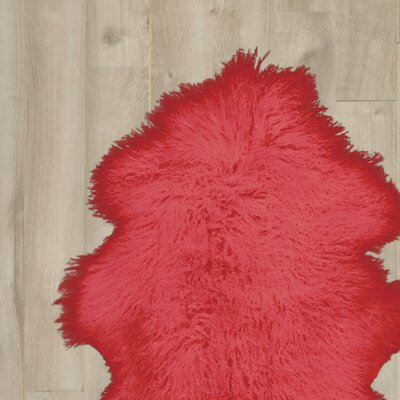 Chevalier Handmade Red Area Rug