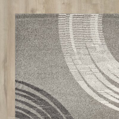Angelica Light Grey Area Rug