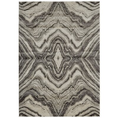 Birch/Sterling Area Rug Rug Size: 5 x 8