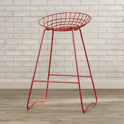 Mullings 32 Bar Stool Finish: Red