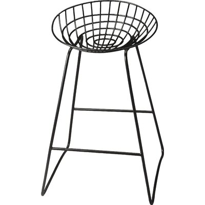 Mullings 32 Bar Stool Finish: Black