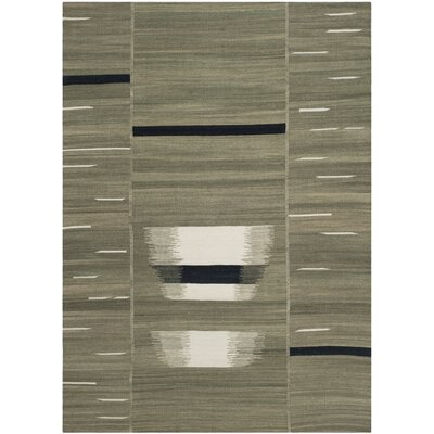 Williamson Beige Area Rug Rug Size: 4 x 6
