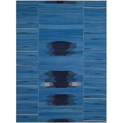 Hebron Blue/Purple Area Rug Rug Size: Rectangle 4 x 6