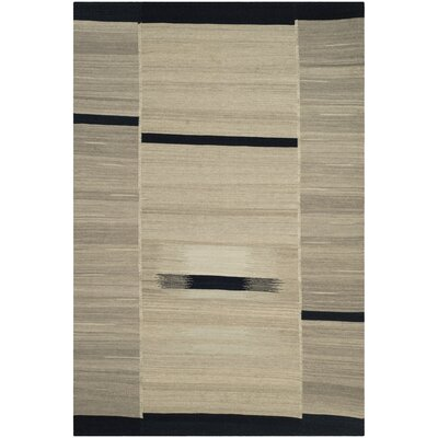Hekimhan Gray Area Rug Rug Size: Rectangle 8 x 10
