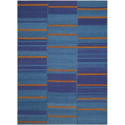 Korina Blue Area Rug Rug Size: Rectangle 4 x 6