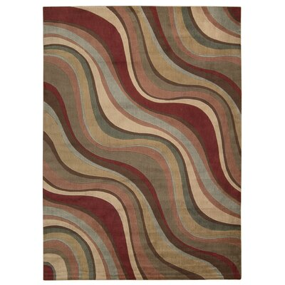 Cherell Brown/Beige Area Rug Rug Size: Rectangle 111 x 33