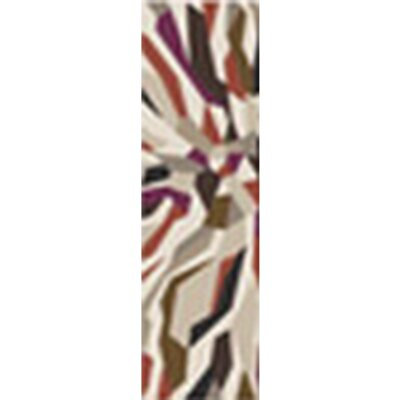 Beltran Hand-Tufted Multi Color Area Rug Rug Size: Runner 26 x 8