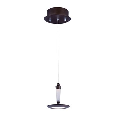 Avevia 1-Light Pendant Base Finish: Bronze