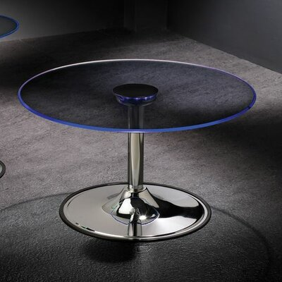 Pradyoth End Table with LED Light