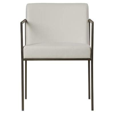 Lowery Armchair Color: White