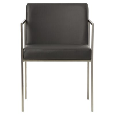 Lowery Armchair Color: Black