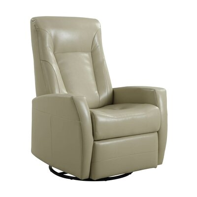 Lyda Manual Rocker Recliner Upholstery: Stone