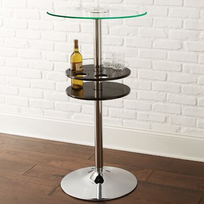 Chuan Pub Table Finish: Black