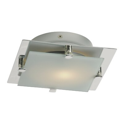 Chipley LED 1-Light Flush Mount