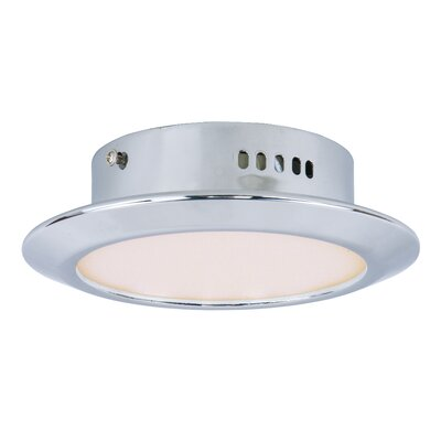 Vineyards 1-Light Semi Flush Mount Base Finish: Silver