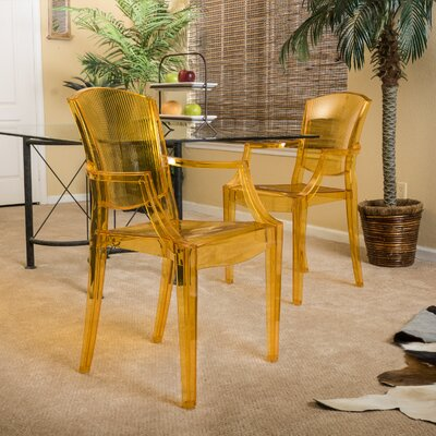 Point Isabel Arm Chair Upholstery: Golden Yellow